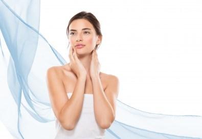 Радиочестотен лифтинг на лице, ултразвук с хиалуронов гел на френската козметика Sothys и моделиращ лифтинг масаж с анти-ейдж ампула в Morea Beauty Studio - Снимка