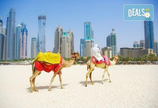 В екзотичен Дубай през есента! 4 нощувки с 4 закуски и 4 вечери в хотел 3* или 4*, самолетен билет, сафари в пустинята и круиз в Дубай Марина - Снимка 5