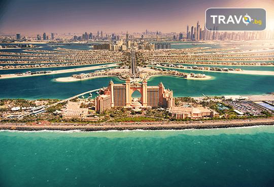 В екзотичен Дубай през есента! 4 нощувки с 4 закуски и 4 вечери в хотел 3* или 4*, самолетен билет, сафари в пустинята и круиз в Дубай Марина - Снимка 1