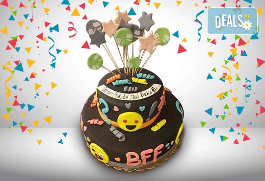 Party торта с фигурална 3D декорация за деца и възрастни от Сладкарница Джорджо Джани - Снимка 4