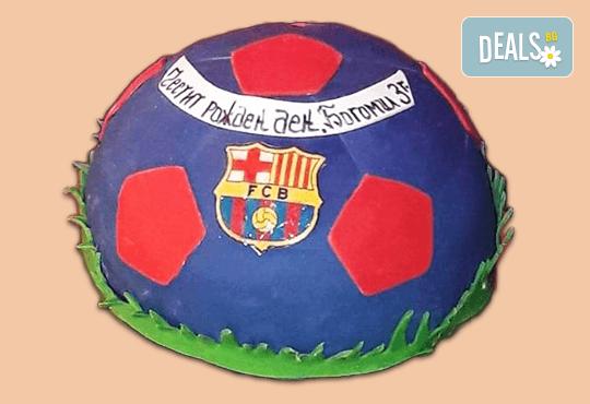 За спорта! Tорти за футболни фенове, геймъри и почитатели на спорта от Сладкарница Джорджо Джани - Снимка 9