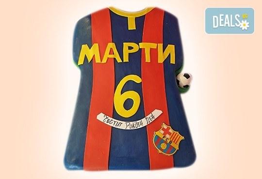 За спорта! Tорти за футболни фенове, геймъри и почитатели на спорта от Сладкарница Джорджо Джани - Снимка 7