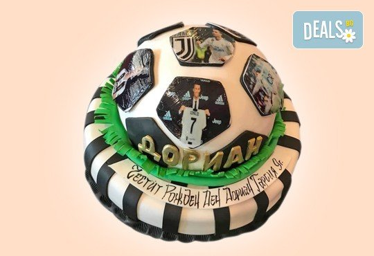 3D торта за футболни фенове и фенове на спорта от Сладкарница Джорджо Джани