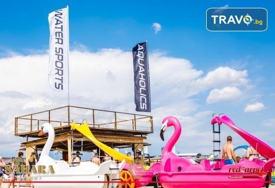 Посетете най-големия плажен бар в Гърция - Sahara Resort в Неа Ираклия! Транспорт и водач от АБВ Травелс - Снимка 2