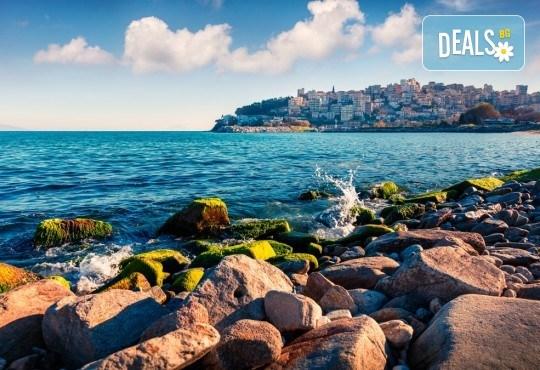 Екскурзия до тюркоазените плажове на Северна Гърция! 1 нощувка и закуска в Кавала, транспорт, посещение на Амолофи бийч и Неа Ираклица - Снимка 5