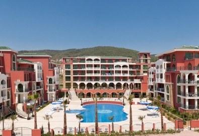 Почивка на супер цена в Свети Влас! 5 нощувки на база All Inclusive в Хотел Свети Георги, транспорт, ползване на басейн, чадър и шезлонг