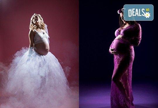 Лято е! Фотосесия за бременни на открито с включени аксесоари и рокли + обработка на всички заснети кадри, от Chapkanov photography - Снимка 23