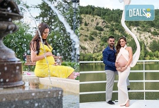 Лято е! Фотосесия за бременни на открито с включени аксесоари и рокли + обработка на всички заснети кадри, от Chapkanov photography - Снимка 3