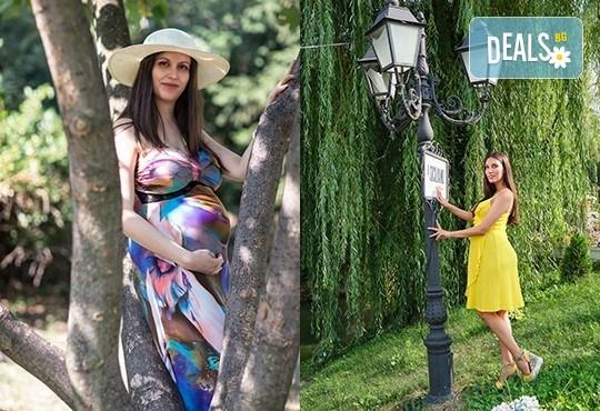 Лято е! Фотосесия за бременни на открито с включени аксесоари и рокли + обработка на всички заснети кадри, от Chapkanov photography - Снимка 13