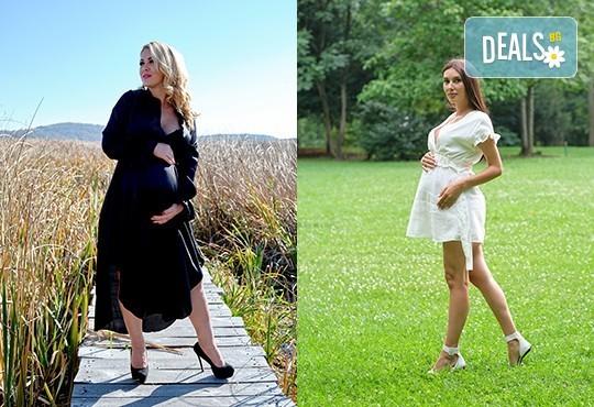 Лято е! Фотосесия за бременни на открито с включени аксесоари и рокли + обработка на всички заснети кадри, от Chapkanov photography - Снимка 18