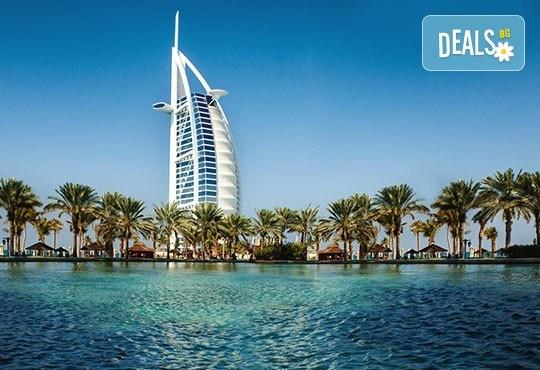 Есенна екзотика в Дубай! 5 нощувки със закуски в хотел 4* или 5*, самолетен билет с летищни такси, водач от Дари Тур - Снимка 1
