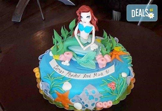 3D фигури! Страхотна фигурална торта за момичета: Замръзналото кралство, Монстар или Феята Дзън Дзън от Сладкарница Джорджо Джани - Снимка 4