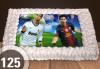 За феновете на спорта! Торта със снимка за почитателите на футбола или други спортове от Сладкарница Джорджо Джани - thumb 1