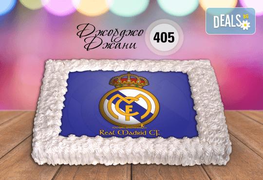 За феновете на спорта! Торта със снимка за почитателите на футбола или други спортове от Сладкарница Джорджо Джани - Снимка 11