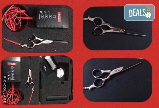 Нова прическа! Подстригване с гореща ножица (терапия), маска с арганово масло и прав сешоар в Салон за красота B Beauty - Снимка 3