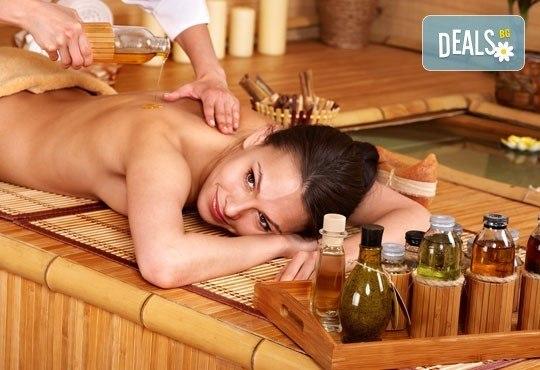 Релакс за тялото и сетивата с 90-минутна японска ZEN терапия на цяло тяло с вулканични камъни, зелен чай и мед в центрове Енигма - Снимка 4