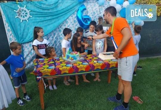 Аниматор за детски рожден ден с много забавни игри и музикална апаратура от Парти агенция ИВОНИ - БАРБАРОНИ - Снимка 7