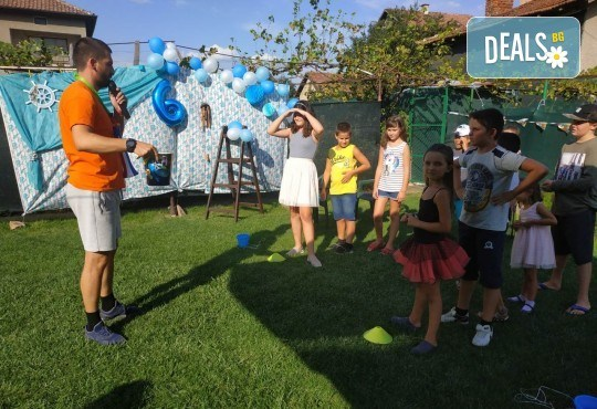 Аниматор за детски рожден ден с много забавни игри и музикална апаратура от Парти агенция ИВОНИ - БАРБАРОНИ - Снимка 8