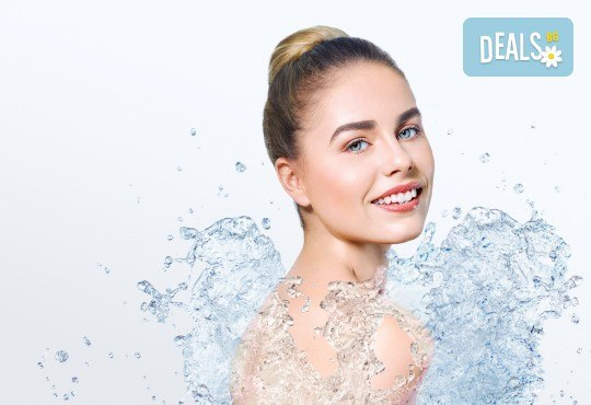 Кислородна терапия за дълбока хидратация, ултразвук на цяло лице и нанасяне на ампула с витамини в студио Нова - Снимка 2