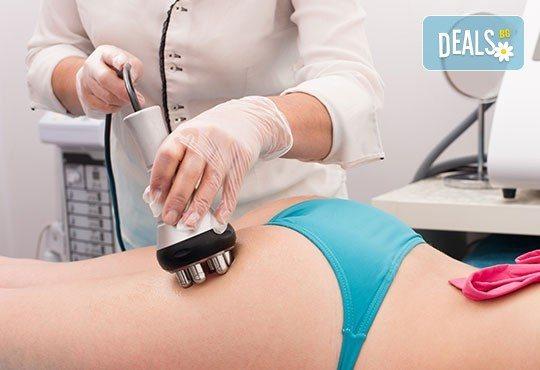 50- или 70-минутна комбинирана антицелулитна процедура за видими резултати и стегната фигура! Кавитация, радиочестотен лифтинг, вакуум и мануален антицелулитен масаж на зони по избор в студио Samadhi! - Снимка 3