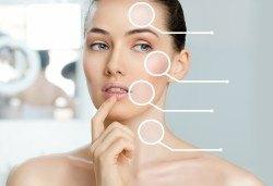 Терапия на лице с ботокс ефект, за зряла кожа с професионална френска козметика на Blue Marine в Anima Beauty&Relax! - Снимка
