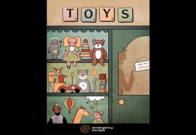 """Смееш ли да се промъкнеш в стария квартален магазин за играчки? Опитай новата ескейп стая """"Историята на играчките"""" от Emergency Escape! - Снимка"""