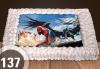 Голяма детска торта 20, 25 или 30 парчета със снимка на любим герой от Сладкарница Джорджо Джани - thumb 31