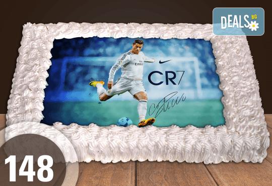 Голяма детска торта 20, 25 или 30 парчета със снимка на любим герой от Сладкарница Джорджо Джани - Снимка 42