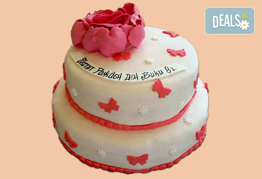 За момичета! Красиви 3D торти за момичета с принцеси и приказни феи + ръчно моделирана декорация от Сладкарница Джорджо Джани - Снимка 43