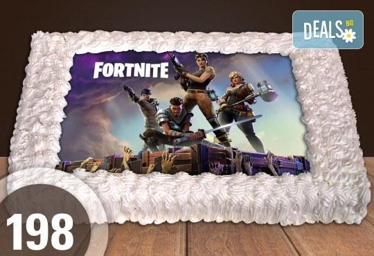 Експресна торта от днес за днес! Голяма детска торта 20, 25 или 30 парчета със снимка на любим герой от Сладкарница Джорджо Джани - Снимка 92