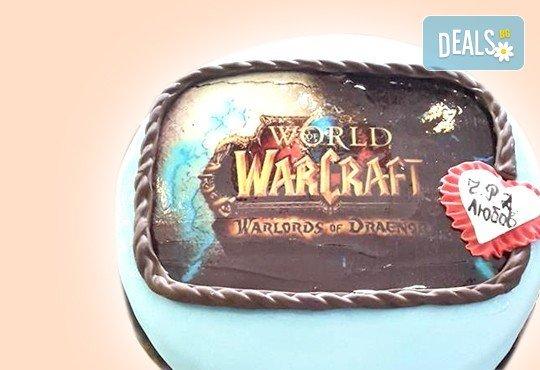 С Вашия бранд! Фирмена торта с лого и индивидуален дизайн от Сладкарница Джорджо Джани - Снимка 36