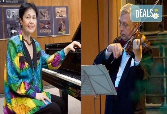 В годината на Бетовен! Концерт на Ангел Станков - цигулка и Жени Захариева - пиано на 07.09. (понеделник) в Камерна зала България, част от МФ Софийски музикални седмици - Снимка 1