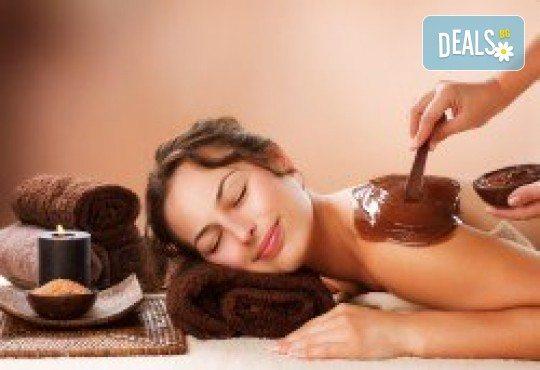 90-минутен комбиниран масаж на цяло тяло с релаксиращ и регенериращ ефект и масла какао или кокос в Масажно студио Теньо Коев - Снимка 1
