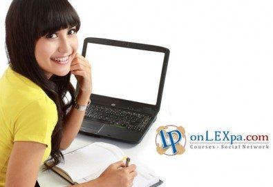 Вземете Online VIP карта за себе си или за подарък от www.onLEXpa.com за всички онлайн курсове! - Снимка