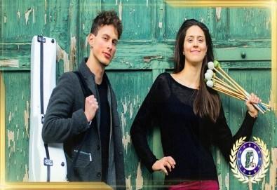 Концерт на Виви Василева – маримба и Лукас Кампара Джиниз (Бразилия) – китара на 19.09. (събота) от 19 ч. в Камерна зала България, част от МФ Софийски музикални седмици - Снимка