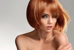 Лукс терапия за коса с инфраред преса - ботокс, кератин или хиалурон, професионално подстригване и прическа със сешоар, преса или маша в Женско царство в Центъра или Студентски град - Снимка