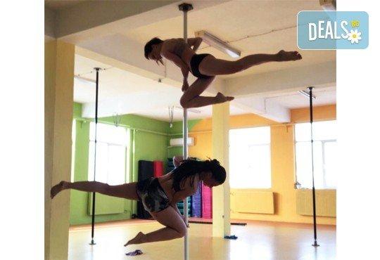 Забавлявайте се и бъдете във форма! 3 или 5 тренировки по Pole Dance - танци на пилон в Pro Sport клуб, Варна - Снимка 3