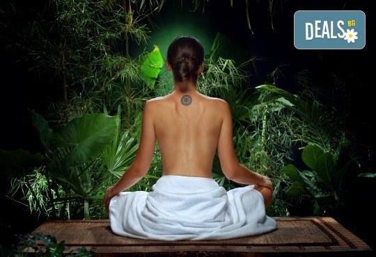 Релакс за тялото и сетивата със 75-минутен тибетски енергиен масаж на цяло тяло в студио Giro - Снимка 3
