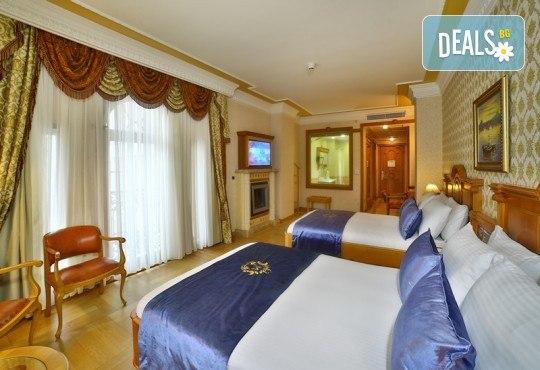 Есенна лукс почивка в Celal Aga Konagi Hotel & SPA 5*, Истанбул! 2 нощувки и закуски, транспорт, ползване на басейн, сауна и фитнес - Снимка 3