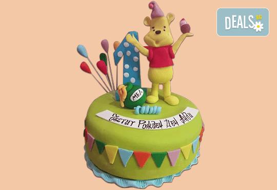 За най-малките! Детска торта с Мечо Пух, Смърфовете, Спондж Боб и други герои от Сладкарница Джорджо Джани - Снимка 34