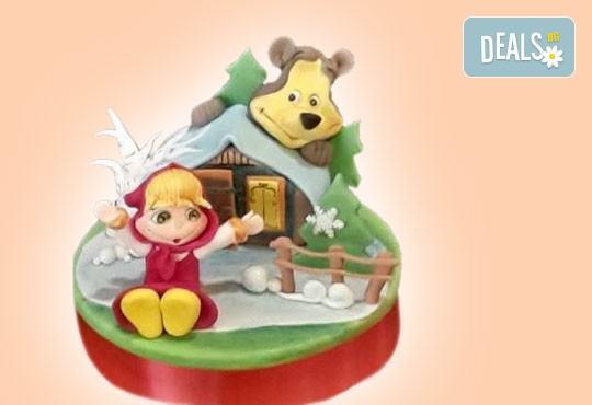За най-малките! Детска торта с Мечо Пух, Смърфовете, Спондж Боб и други герои от Сладкарница Джорджо Джани - Снимка 71