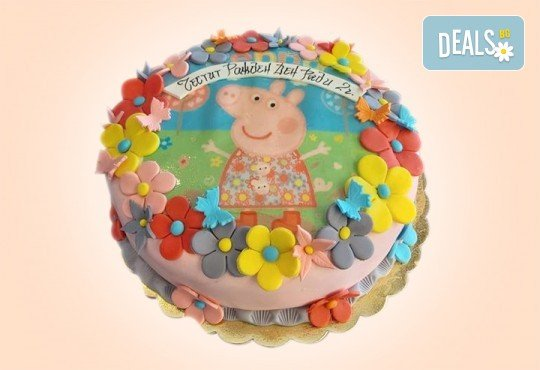 За най-малките! Детска торта с Мечо Пух, Смърфовете, Спондж Боб и други герои от Сладкарница Джорджо Джани - Снимка 12