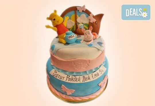 За най-малките! Детска торта с Мечо Пух, Смърфовете, Спондж Боб и други герои от Сладкарница Джорджо Джани - Снимка 55