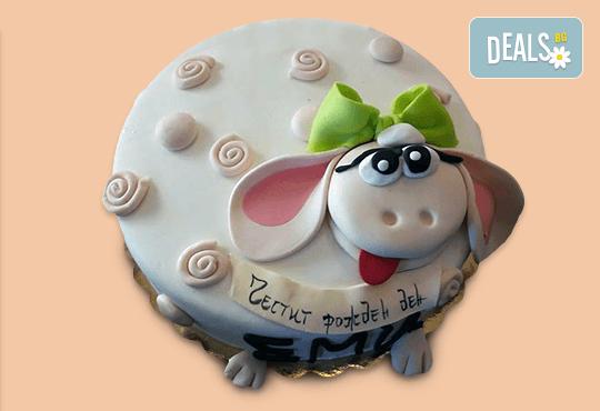 За най-малките! Детска торта с Мечо Пух, Смърфовете, Спондж Боб и други герои от Сладкарница Джорджо Джани - Снимка 49