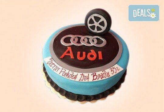 За момчета! Детска 3D торта за момчета с коли и герои от филмчета с ръчно моделирана декорация от Сладкарница Джорджо Джани - Снимка 87