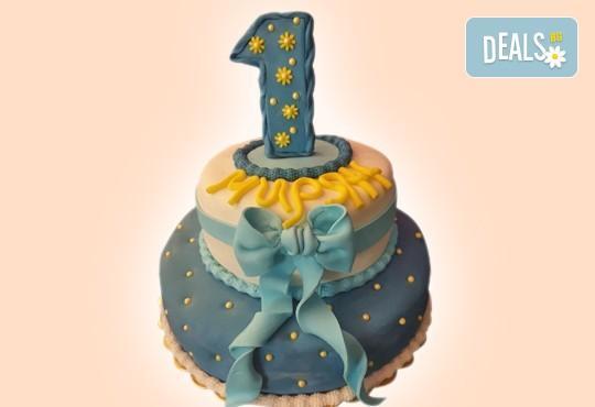 За момчета! Детска 3D торта за момчета с коли и герои от филмчета с ръчно моделирана декорация от Сладкарница Джорджо Джани - Снимка 26