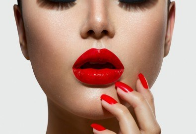 Красиви устни! Уголемяване на устните с хиалурон и ултразвук при специалист-естетик в The Castle of beauty - Снимка