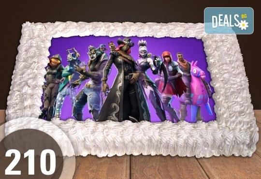 Голяма детска торта 20, 25 или 30 парчета със снимка на любим герой от Сладкарница Джорджо Джани - Снимка 101