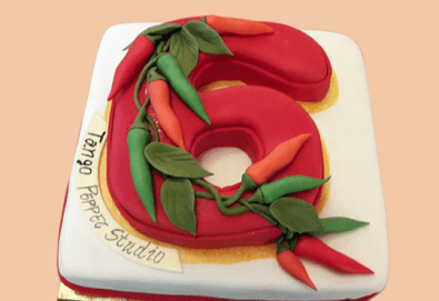 Голяма 3D Торта на традициите за почитателите на българския фолклор, 25 парчета от Сладкарница Джорджо Джани - Снимка