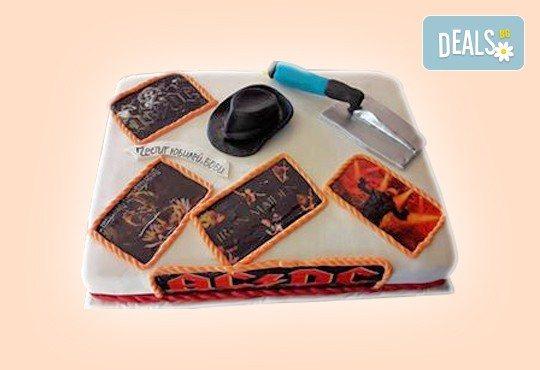 За любимия мъж! Торта за мъже с индивидуален дизайн и размери по избор от Сладкарница Джорджо Джани - Снимка 39